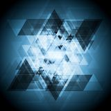 Dark blue technology abstract background Royalty Free Stock Images