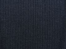 Dark blue texture. Knitted fabric.  Royalty Free Stock Image