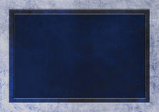 Dark Blue Textured Background, Text Area Stock Photo