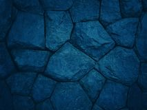 Dark blue tone background with patterns and textures. Of boulders for nature and wallpapers stock photo