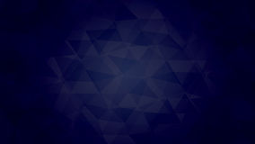 Dark Blue Triangle Stock Photography
