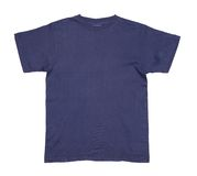 Dark blue tshirt Royalty Free Stock Photography