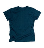 Dark blue tshirt template Royalty Free Stock Photo