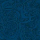 Dark blue vector background Stock Images