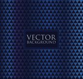 Dark blue vector background of abstract pattern geometric triangle shapes. Abstract pattern geometric triangle shapes Vector Illustration