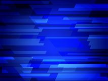 Dark BLUE vector polygonal illustration, which consist of rectangles. Rectangular pattern for your business design. Geometric back. Ground in Origami style with Royalty Free Stock Photo