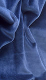 The dark blue velvet Stock Photos