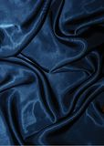 Dark blue velvet background Royalty Free Stock Photo