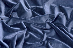 The dark blue velvet background Royalty Free Stock Photography