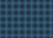 Dark Blue Weave Pattern. A background pattern with blue weave squares texture Stock Photo