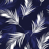 Dark blue and white seamless graphic pattern with Royalty Free Stock Photo