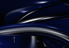 Dark blue wire Stock Images