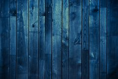 Dark Blue Wood Background royalty free stock photo