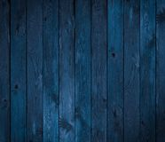 Dark blue wood texture or background Royalty Free Stock Photos