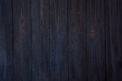 Dark blue wooden background Stock Photography