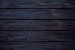 Dark blue wooden background Stock Images