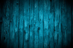 Dark Blue Wooden Wall Royalty Free Stock Photography