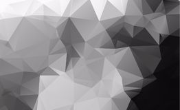 Dark  blurry triangle background design. Geometric backgro. Und in Origami style with gradient Stock Photos