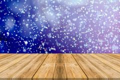 Bokeh floor, wooden floor stock images