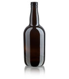 Dark bottle Stock Image