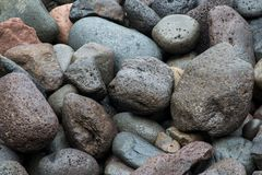 Dark boulders background.  royalty free stock photo