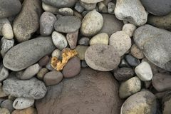 Dark boulders background. N stock photography