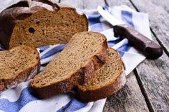 Dark bread Stock Image