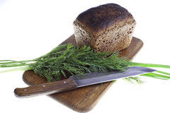 Dark bread with fennel Royalty Free Stock Photos