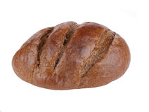 Dark bread on isolated Royalty Free Stock Photography