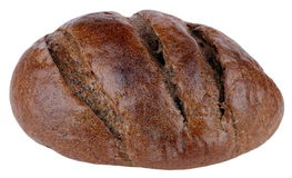 Dark bread on isolated Stock Photography