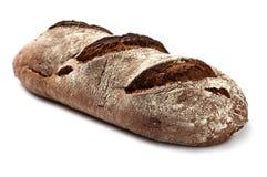 Dark bread isolated Stock Photography