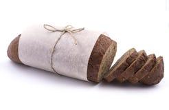 Dark bread packaging Royalty Free Stock Photos