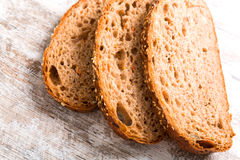 Dark bread Royalty Free Stock Images