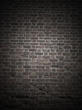 Dark brick wall Stock Photography