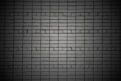 Dark brick wall Royalty Free Stock Photos