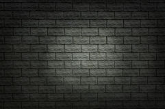 Dark brick wall Royalty Free Stock Image
