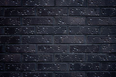 Dark Brick Wall Stock Images