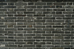 Dark brick wall background Royalty Free Stock Images