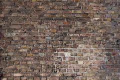Dark brick wall background Royalty Free Stock Image