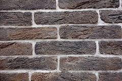 Dark brick wall texture Royalty Free Stock Photography