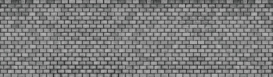 Dark brick wall, texture of black stone blocks, high resolution. Black brick wall, wide panoramic stone surface texture Stock Photography