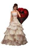 Dark Bride Royalty Free Stock Image