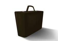 Dark briefcase Stock Images