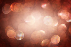 Dark brown abstract lights background Royalty Free Stock Photos