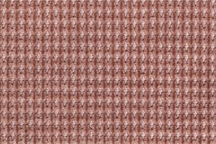 Dark brown background from soft fleecy fabric close up. Texture of textiles macro Royalty Free Stock Photo