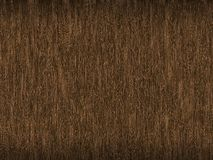 Dark brown background with a woody texture effect with light thin veins. Royalty Free Stock Photo