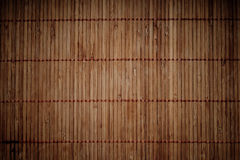 Dark brown bamboo background Stock Photography