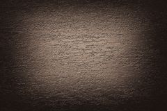 Dark brown beige abstract texture vignette background.  Royalty Free Stock Photos