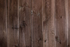 Dark brown boards background artistic vertical pattern Royalty Free Stock Photography