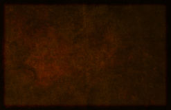 Dark Brown Bordered Textured Material Background Royalty Free Stock Photo